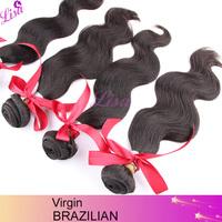 Top quality Unprocessed virgin brazilian hair 4pcs/lot New star hair Brazilian body wave Remy human hair weave Free shipping