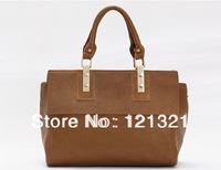 Promotion! 2013 HOT High Quality WEIDIPOLO Brand Handbag for Women Tote Handbags Genuine Cow Leather Bag Free Shipping M0953