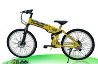 Free shipping 2014 NEW 26 inch folding Electric bicycle EN15914  Electric mountain bike  lithium battery E-BIKE