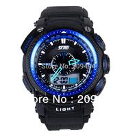 Hot Man Wristwatch Rubber Band Watch Quartz Digital Watch High Quality Water Resistant Watch Free Shipping