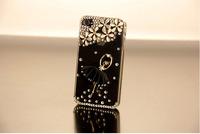 HongKong Post Air Mail  Luxury 3D Ballet Girl Bling Crystal Diamond Cover For zopo c2 case+1 diamond Dust