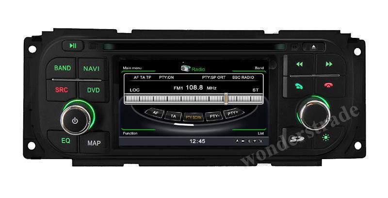 S100 CAR DVD PLAYER GPS navigation radio for Dodge Neon RAM 1500 Caravan 2500 Stratus Intrepid Dakota Viper/3G WIFI /V-20(China (Mainland))