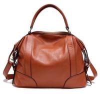Hot selling 2014 new fashion 100% genuine leather women's handbag cowhide leather women messenger bag