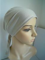 free shipping cotton blends muslim inner hat,islamic cap,muslim hijab mix color 12pcs/LOT