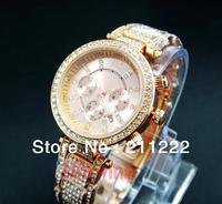 Luxury Brand New Geneva Wristwatch High Quality Women's Watch With Date Wholesales Ladies Jewelry Diamond Bracelets Watch