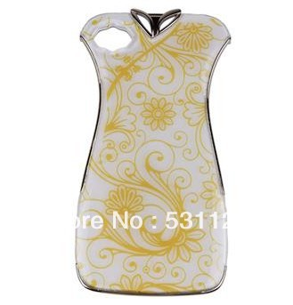 2013New Dress Cheongsam Cell phone Case Cover Shell Protective For Apple iPhone4,4s,5