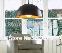 Wholesale high quality items 110v 220v  e27*1 lamp holder D40*H20cm aluminum pendant lights for restaurant lighting dropshipping