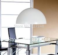 Wholesale new items design 110v 220v  e27*1 lamp holder D40*H20cm aluminum pendant lights for restaurant lighting dropshipping