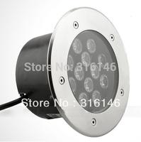 DHL free shipping 1060lm high luminous AC220V 12W 12X1W waterproof IP65 led underground light led underground lamp buried light