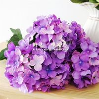 Free shipping artificial flowers artificial flowers silk hydrangea