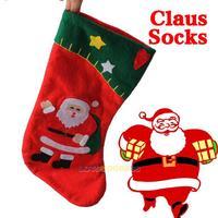 LS4G New 2014 Christmas  Warm Socks Cute Christmas Decoration Santa Claus Socks Gifts