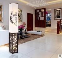 Modern chinese style solid wood floor lamp lamps living room lights restaurant lamp bedroom lamp study light floor lighting 1125