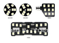 High quality 4pcs/set T10 5050 LED car Reading light for Great Wall Hover H3 H5, Hover interior dome light