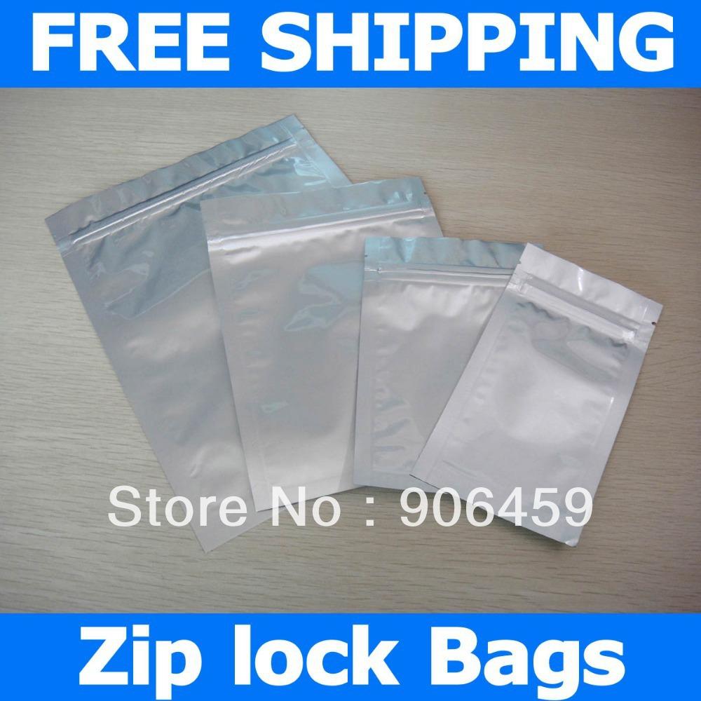 Free Shipping,9.1''x13.8'' (23x35 cm) 1 Gallon mylar bags,aluminum foil zip lock bags,food storage zipper bag(China (Mainland))