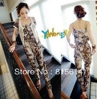 Fashion 2156 ! excellent boa twinset jumpsuit