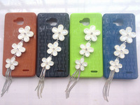 "HKP ePacket Free ship 4.5"" IPS for Jiayu G3S G3 MTK6589 Quad Core Android 4.2 4GB ROM dual sim GPS smart phone flower case"