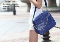 FREE SHIPPING new design brand shoulder bag  fashion women tote bag  genuine leather handbags  yub-0259