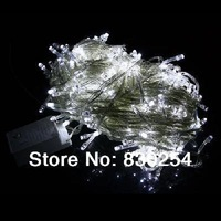 New 30M 300 LED Decorative String Fairy Light White Christmas 220V EU Plug Free Shipping&Dropshipping