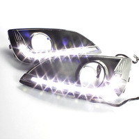 Free and Fast shipping for 8 LED  Hyundai IX 35 Day time running lights with High quaility and Super white
