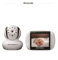 Motorola MBP36 Remote Wireless Video Baby Monitor with 3.5-Inch Color LCD Screen, Infrared Night Vision and Remote Camera