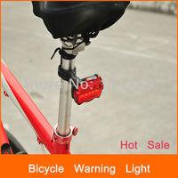 5 LEDs 7 MODES available high quality  bike light bicycle warning light LED light
