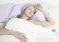 Free shipping 200pcs/lot fashionable sleeping headphone sport headphone easy to fall asleep  headphones headset