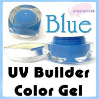 NEW 40 Different Pure / Solid Colors UV Nail Art Tips UV Builder Gel  15ml/0.5oz Free Shipping