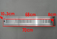 70cm x10cm Large-traffic stainless steel bathroom shower long floor waste sanitary wares floor linear drain
