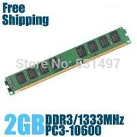 Brand New Sealed DDR3 1333 / PC3 10600 2GB  Desktop RAM Memory / Lifetime warranty / Free Shipping!!!