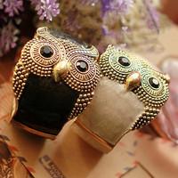 Minimum Order $20 (mixed order)   Accessories oil vintage owl trend mix match exquisite personalized bracelet