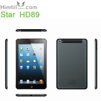 "7"" Smart Phone Star HD89 Built-in 3G GSM WCDMA MTK8389 Quad Core DDR3 RAM 1GB ROM 16GB Android 4.2 SIM Card Slot China Original"