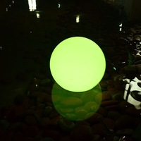 D25,30,35,40,50,60cm  color changing IP68 led waterproof  glowing sphere