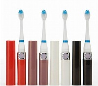 Electric Toothbrush ultrasonic waterproof sonic electric toothbrush with 3  brush heads as show on tv free shipping 100pcs