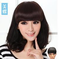 Real hair handmade real hair maiqi fringe curtain invisible seamless real hair fringe