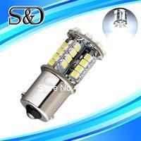 S&D Brand 12pcs 1156 BA15S 44 SMD Pure White CANBUS OBC No Error  Car 44 LED Light Bulb p21w