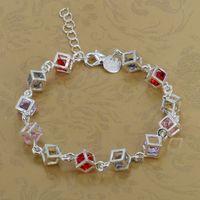 LQ-H220 Free Shipping Wholesale 925 silver Fashion Jewelry Bracelets, 925 Silver Bracelets erba niia vzra