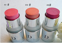 free shipping Cream blush sample 3 color number 3pcs