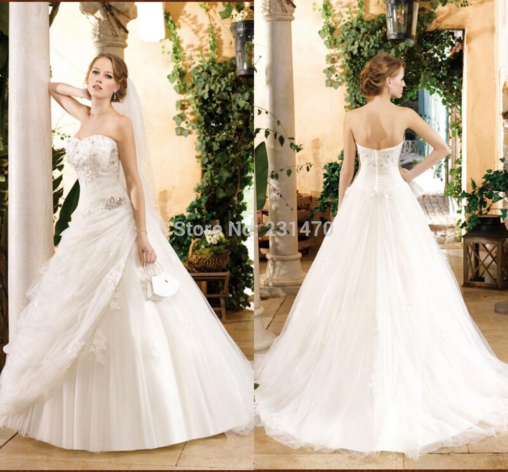 Envio Ruched tafetá vestido de casamento livre tamanho personalizado e cor(China (Mainland))