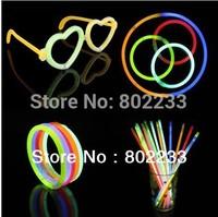 1000pcs/lot christmas celebration festivity ceremony flashing stick fluorescent bracelets,night glow sticks,LED toys for party