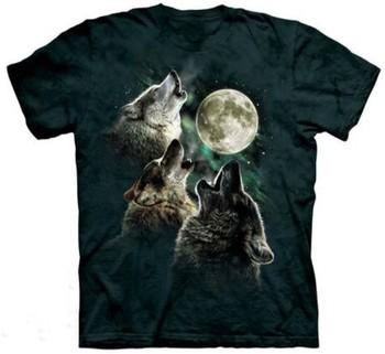 HOT SALE!2014New arrivel summer women/men Animal tiger/THREE WOLF MOON CLASSIC print 3D/Galaxy T-shirts tops tees plus size