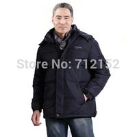 Winter plus size M~4XL white duck down coat for men Casual quinquagenarian down jacket high quality men loose down coat male