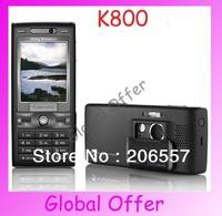 K800 Original Sony Ericsson K800i 3G Bluetooth 3.2MP Camera FM MP3 Player Unlocked Mobile Phone refurbished 1 year warranty