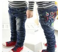 5 pcs/lot new fashion 2013 children kids denim trousers boys jeans pants spring autumn wear free shipping PL921