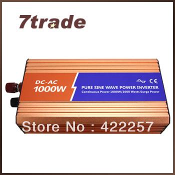 Free Delivery Water Pump Solar Inverter 1kW 24V 220V(China (Mainland))