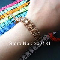 Free shipping Italy lace bracelet Hot Selling muti-color CANDY LACE Fashion Italianlace bracelet