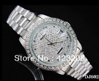 Diamond face Women's Mechanical Watch Watches Wristwatches Free shipping