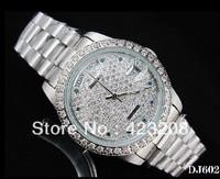Diamond face Women's Mechanical Watch Watches Wristwatches Free shipping