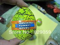 3*4CM 60pecs/lot novelty colorful growing dinosaur egg Easter eggs educational expansion toys for children