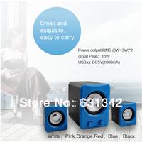 Free Shipping  Music Dancing Audio PC Speaker