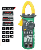 FREE SHIPPING  MASTECH MS2008A MINI DIGITAL CLAMP METER